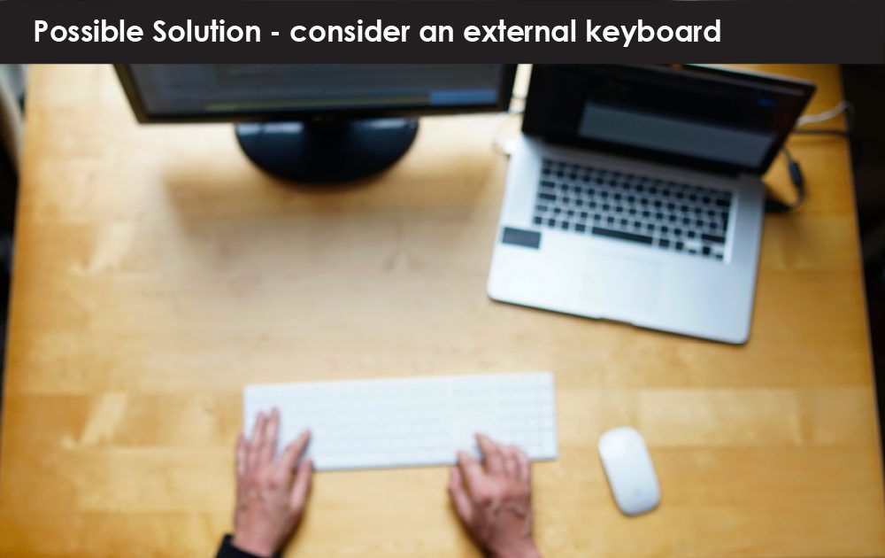 Ergonomics: Keyboards