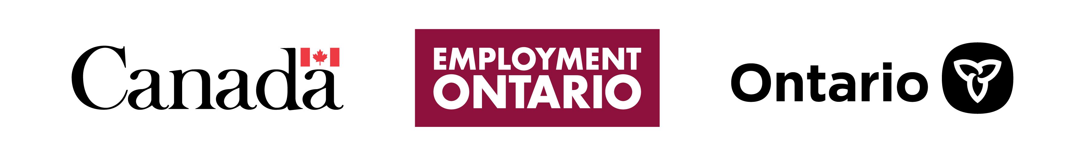 Employment Ontario Tri-Wordmark